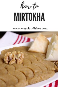 Learn How to make Mirtokha with Assyrian Dishes! Learn To Cook, I Foods, Food Videos, Recipies, Dishes, Cooking, Desserts, Recipes, Cuisine