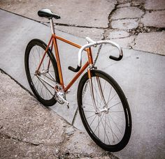 Full set of @columbus_official Gilco fixed gear bike up on Flickr by @highfructosecornsyrup by bishopbikes