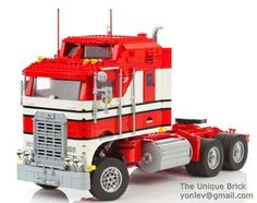 Lego Custom Model 1978 Kenworth Truck