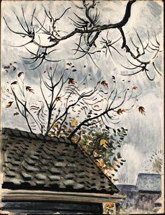 CHARLES BURCHFIELD  Autumn Branches