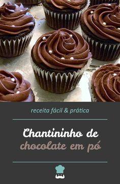Confira como fazer esse creme delicioso para os seus bolos e sobremesas! #chantininho #receita #comida #leiteninho #chantilly #sobremesa #receitafácil
