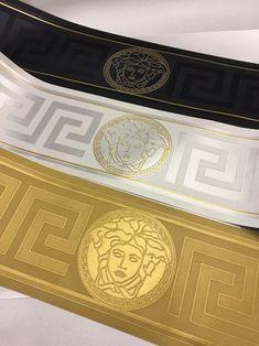 Gold Wallpaper Border, Gold Luxury Wallpaper, Versace Wallpaper, Modern Wallpaper, Vinyl Wallpaper, Home Wallpaper, Casa Versace, Versace Home, Versace Mansion