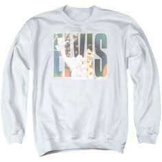 Elvis Presley: Aloha Knockout Crewneck Sweatshirt