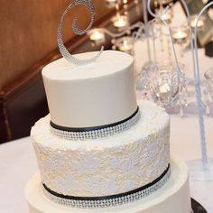2 tier wedding cakes silver vow renewal on modern rustic weddings manuel 10169