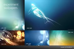 Experiment Wallpaper Set is a set of Digitally Rendered Wallpapers. This Wallpaper series comes in various resolutions and colors.