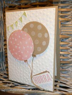 °°°Lieblingsstempel°°° kreativ mit Stempel und Papier und Stampin´Up!: Baby-Balloons!