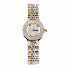 Women's Certified Pre-Owned Watches - Cartier Must de Cartier 21 quartz womens Watch 1340 Certified Preowned * Click image to review more details.