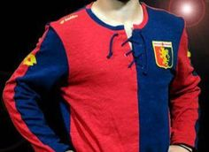 Genoa CFC 120th Anniversary Lotto Home Jersey