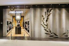 Fred Perry store by BuckleyGrayYeoman, Bangkok – Thailand