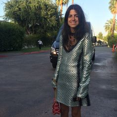 Me as a net and its fish and potentially almost fashion roadkill as evidenced by oncoming van #lvpalmspring