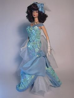 Barbie In To The Blue Artist Creations Italian O.O.A.K. Fashion Dolls by Alessandro Gatti e Giuseppe De Bellis