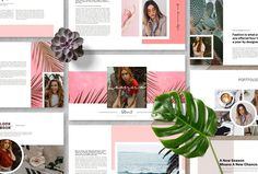 LEONNA - Powerpoint Template designed by Templates. the global community for designers and creative professionals. Powerpoint Presentation Slides, Presentation Design Template, Business Presentation, Design Templates, Powerpoint Designs, Marketing Presentation, Art Template, Fashion Slides, Envato Elements