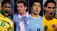 Argentina, Brasil y Chile, cabezas de serie en la Copa América