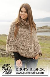 Free pattern on Ravelry: 156-29 Sands of Time by DROPS design