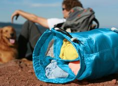 The SegSac™ is more than just a stuff sack.  It's organized adventure in a bag.