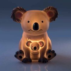 Koala LED Night Light - Yellow Octopus