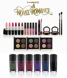 MAC Romance Novel Fall 2014 Collection – Beauty Trends and Latest Makeup Collections   Chic Profile