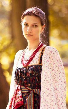 traditional Russian folk costume  русские традиционные народные костюмы