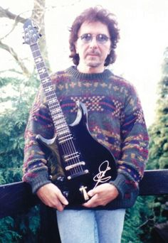 Tony Iommi. That sweater though