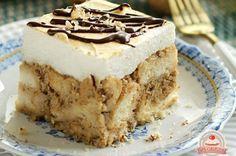 Web Cukrászda – A házi sütemények szerelmeseinek Izu, Tiramisu, Ethnic Recipes, Food, Essen, Meals, Tiramisu Cake, Yemek, Eten