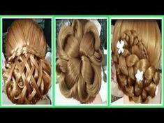 Peinados Para Niñas 2017/Peinados para cabello/Como Hacer Peinados Faciles rapidos/Trenzas Faciles52 - YouTube Fancy Hairstyles, Hair Designs, Braids, Youtube, Hair Beauty, Hair Styles, Nuevas Ideas, Avatar, Shorts