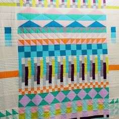 Lorena Marañón I kind of knew this would be my favorite thing at Quilt Market. Amazing job @carriestrine!