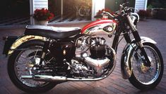 BSA A10 Super Rocket 1963, so nice, perfect chrome.