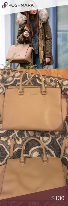 Michael Kors Selma medium bag Good condition just some wear on the inside of the bag- comes with dust bag Michael Kors Bags