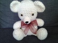 amigurimi ours pour décoration de chambres ou doudou d'enfant : Chambre d'enfant, de bébé par stella1957