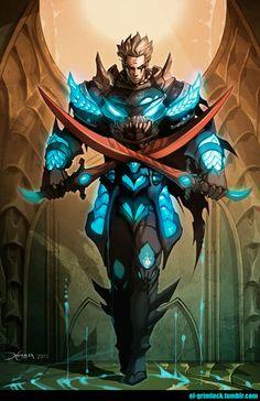 Dark Guardian by el-grimlock.deviantart.com on @deviantART