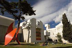 Visitar Fundació Joan Miró. Como llegar, fechas, horarios y recomendaciones. ✔ Guía de Barcelona ✔ Hoteles en Barcelona ✔ Mapa interactivo