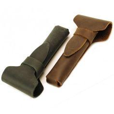 American Mountain Leather Safety Razor Case