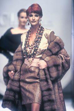 Dior HC F/W 1991 Model: Linda Evangelista