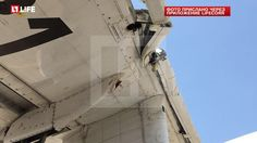 PHOTO Beriev Be-200ES sustains damage after hitting tops of trees while fighting a forest fire near Leiria, Portugal