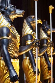 Guards of King Tut
