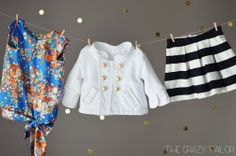 project run & play . Pearls &Grace  - The Crazy Tailor