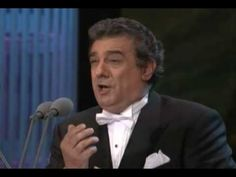 Placido Domingo 1994 Amor vida de mi vida, coliseum Los Angeles USA