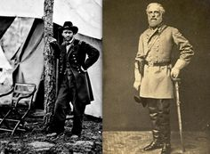 On this day in 1865, At Appomattox, Virginia, Confederate General Robert E. Lee surrenders his 28,000 troops to Union General Ulysses S. Grant, effectively ending the American Civil War.