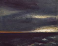 These moody oil landscapes are by renowned Norwegian artist Ørnulf Opdahl . To see more of his work go to Galleri Haaken . Contemporary Landscape, Contemporary Paintings, Landscape Art, Landscape Paintings, Landscapes, Seascape Paintings, Nature Paintings, Art Paintings, Famous Art