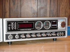 Uniden Madison (CB Radio)  I love this radio!  I owned one for a few years, but ended up selling.  I regret it now.  Hopefully it was one I sold while saving to buy my wife's engagement ring.  That would make it worth it.  I hope to buy one again someday with a matching speaker.  It's a great looking radio with the best audio from any CB that I remember!