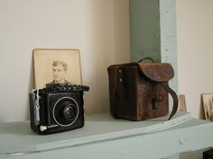 Starting a collection of old cameras. Love this one.