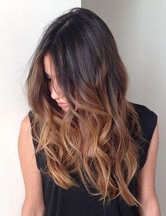 Ombré hair sur cheveux longs - Looking for Hair Extensions to refresh your hair look instantly? http://www.hairextensionsale.com/?source=autopin-thne                                                                                                                                                                                 More
