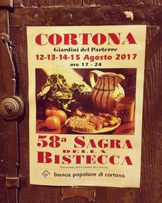 per festeggiare il Ferragosto, Cortona propone la Sagra della Bistecca di Chianina.  To celebrate Ferragosto, Cortona offers the festival of Steak, chianina Beef. #hotelitaliacortona #sagradellabistecca #cortona #chianina #ferragosto