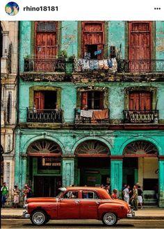 Cuba!  via IG Courtesy of Rhino18181