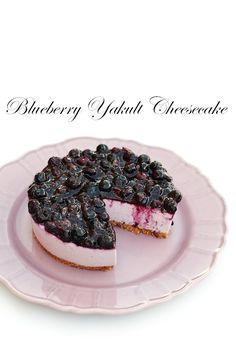 Blueberry Yakult Cheesecake