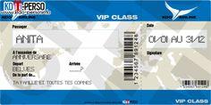 Creer votre faux billet d'avion personnalise imprimable a offrir