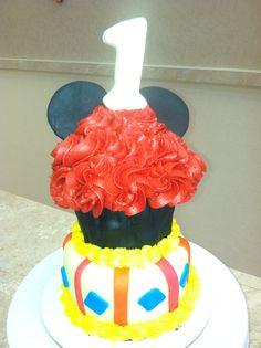 LiVay Sweet Shop Mickey Mouse Cupcake