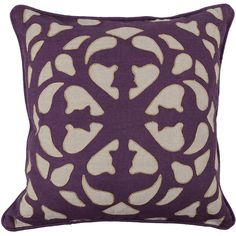 Engineered Nature Blyth Plum Pillow design by Villa Home (285 BRL) ❤ liked on Polyvore featuring home, home decor, throw pillows, pillows, villa home collection, textured throw pillows, linen throw pillows, patterned throw pillows et plum throw pillows