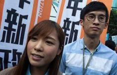 """Since Hong Kong is semi-autonomous under the """"one country, two systems"""" framework after it was returned to China in 1997, Beijing still has the final say in how to interpret its laws .  In refusing to pledge allegiance to Beijing when being sworn in, two elected lawmakers Sixtus Leung and Yau Wai-ching has been blocked by Bejing from taking office. #Hongkonglawmakers #blockbyBejing"""
