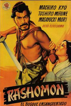 """Ever hear of the movie Rashomon? It's about a murder and rape that happen in Japan, and the story is retold by each person who experiences it. And each one has a different view of the story, because of who they are and what they saw."""